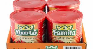 Online-store canned tomato paste
