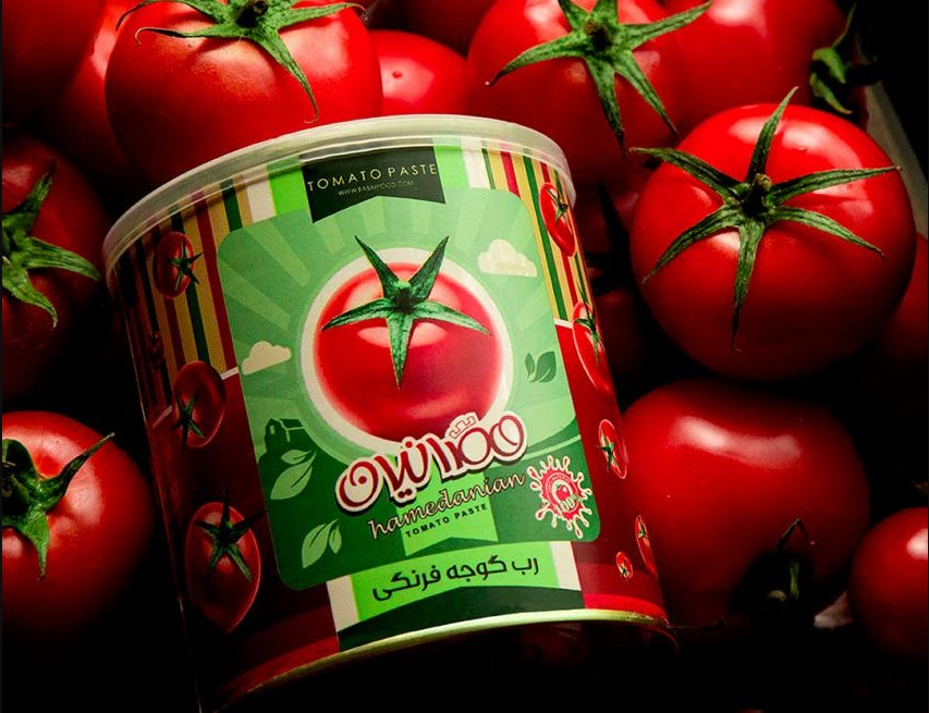 Import canned Tomato paste
