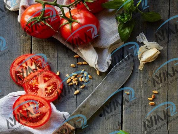 Trade tomato paste